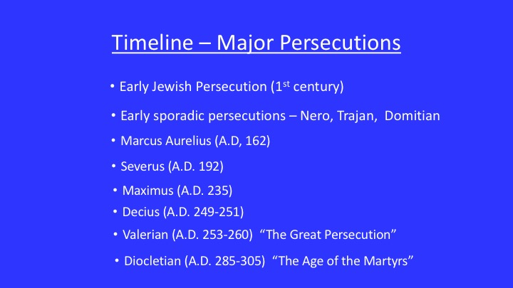 third century roman empire the martyrdom Persecution of christianity and christian martyrdom  and soon spread over the whole roman empire, except gaul  wrote in the middle of the third century.