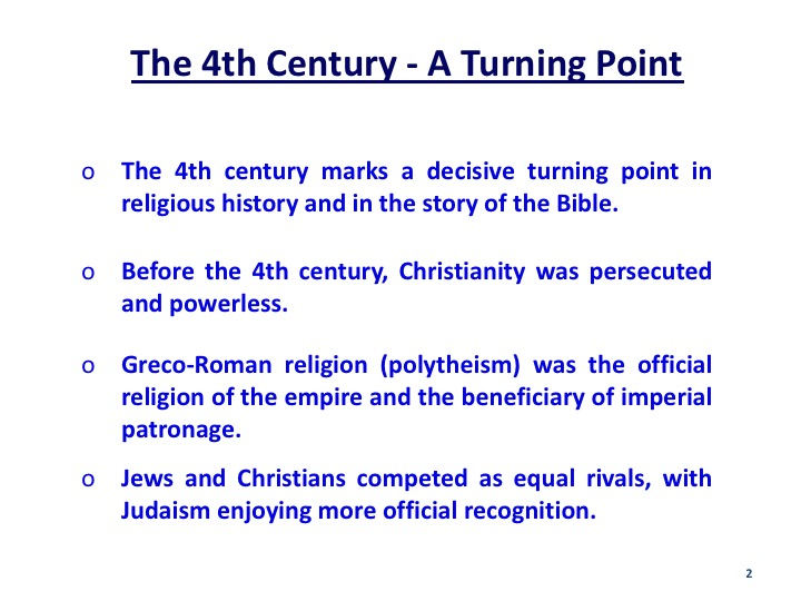History of the Bible 7