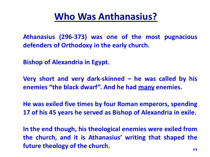 athanasius writings